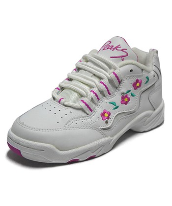 Peaks White Sweet Pea-T Sneaker