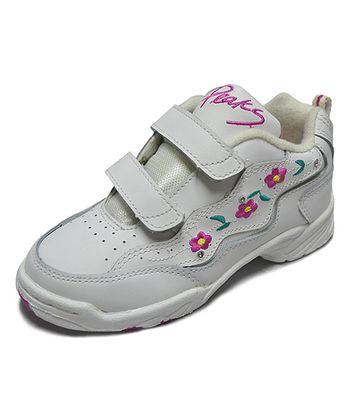 Peaks White Sweet Pea-V Casual Sneaker