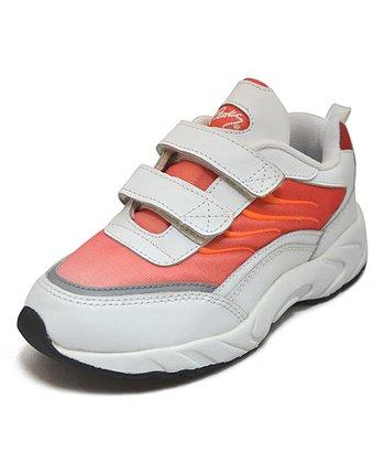 Peaks Red & Orange Lazar-V Running Shoe