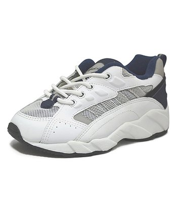 Peaks White & Black Speedster Running Shoe