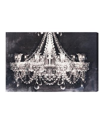 Night Dramatic Entrance Canvas Wall Art