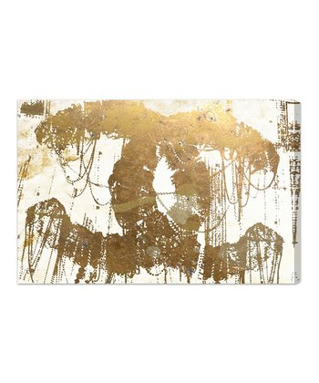 Gold Hey Lolita Canvas Wall Art