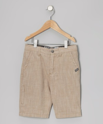 Khaki Walk Shorts - Toddler & Boys