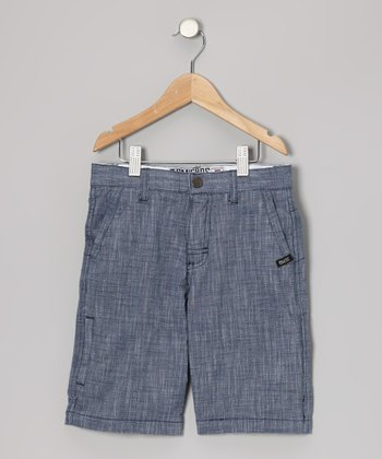 Steel Blue Walk Shorts - Toddler & Boys