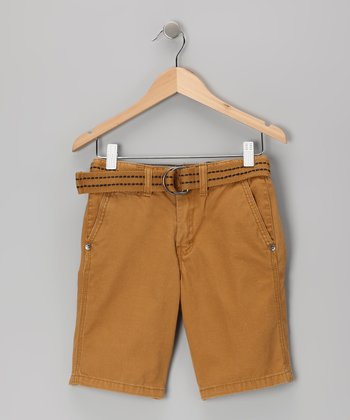 Camel Shorts - Toddler & Boys