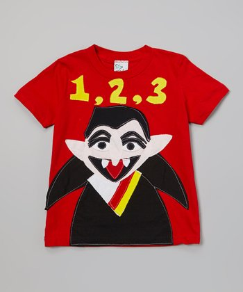 Red Count von Count Tee - Infant, Toddler & Boys
