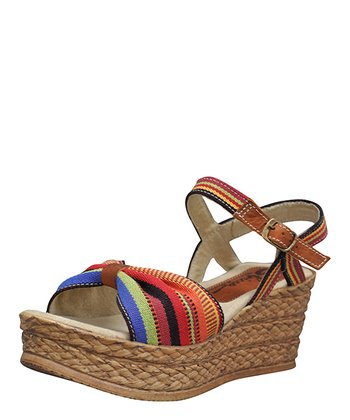 Red & Blue Baja Sandal
