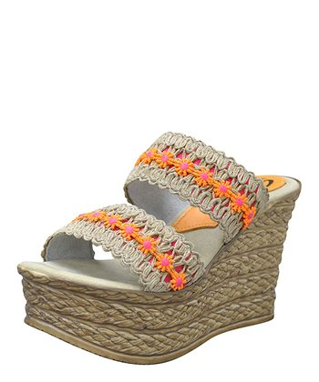 Orange Fonda Espadrille