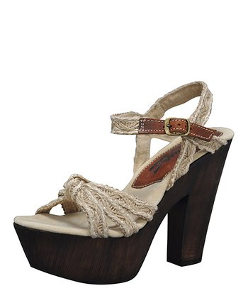 Natural Generation Platform Sandal