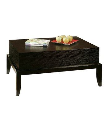 Espresso Heritage Coffee Table