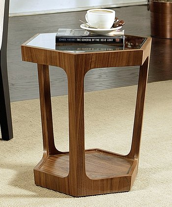 Walnut Enzo End Table