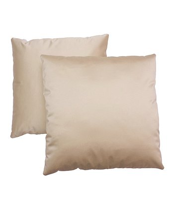Off-White Pillow - Set of Two