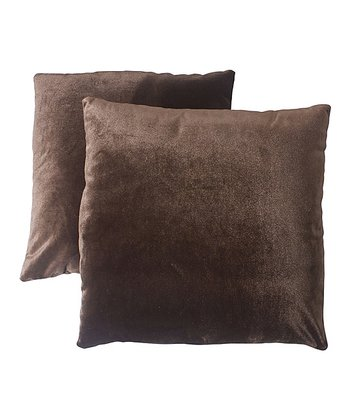 Brown Pillow - Set of Two