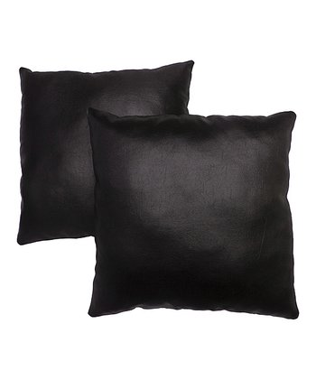 Black Pillow - Set of Two