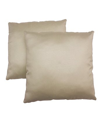 Cream Pillow - Set of Two