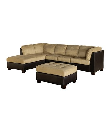 Charlotte Sectional Sofa & Ottoman