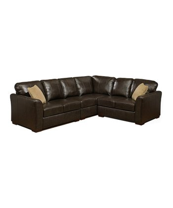 Florence Leather Corner Section Sofa