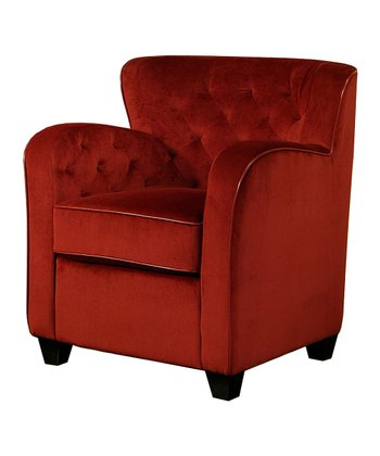 Red Messana Armchair