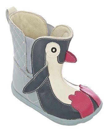 Zooligans Blue Penguin Boot