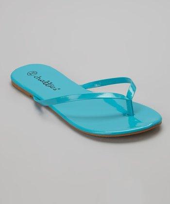 Chatties Turquoise Flip-Flop