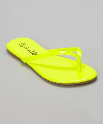 Chatties Lime Flip-Flop