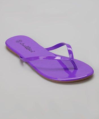 Chatties Purple Flip-Flop