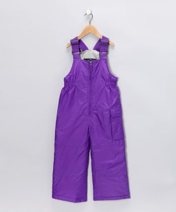 Orchid Cargo Bib Pants - Toddler & Girls