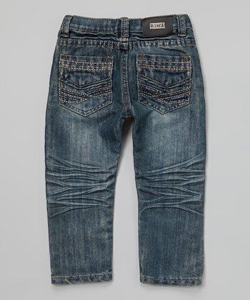Dark Wash Jeans - Toddler & Boys