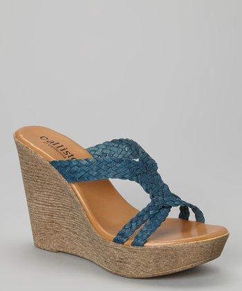 CALLISTO of CALIFORNIA Blue Braid Babe Wedge