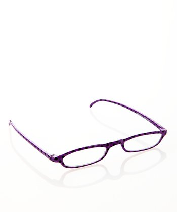 Purple Polka Dot Slim Readers