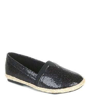 Black Fabi Slip-On Shoe