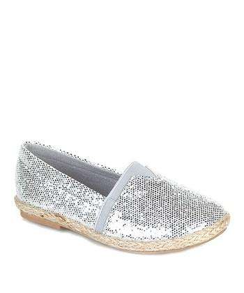 Silver Fabi Slip-On Shoe