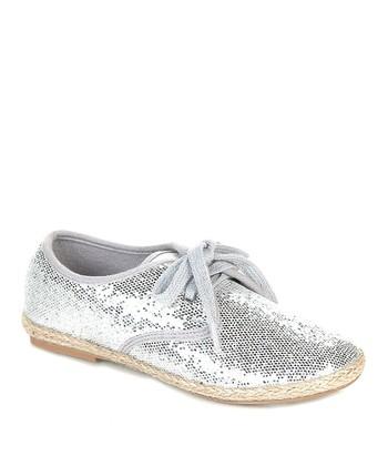Silver Hema Sneaker