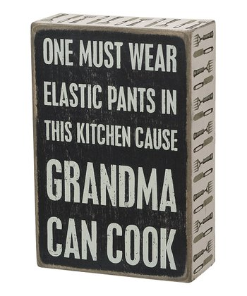 Primitives by Kathy 'Grandma Can Cook' Wall Sign