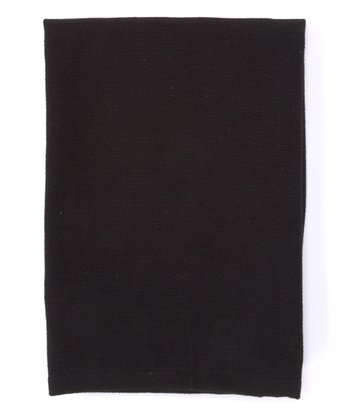 Black Casual Classic Napkin - Set of Four