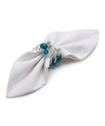 Cabana Cool Napkin Ring - Set of Four