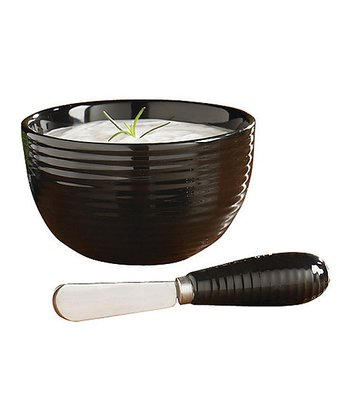 Blackstone Dip Bowl & Spreader