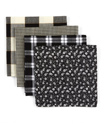 Windowpane Napkin - Set of Four