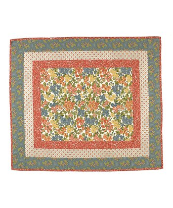Rue du Marche Reversible Throw