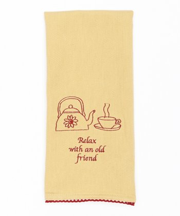 'Old Friend' Dish Towel