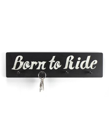 'Born to Ride' Wall Hook
