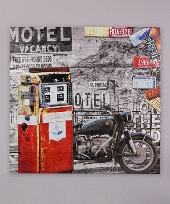 'Motel Vacancy' Canvas