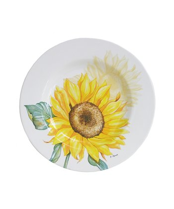 Sunflower Large Round Platter