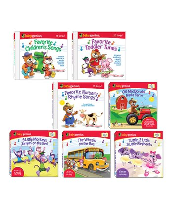 Classic Rhymes Board Book & CD Set