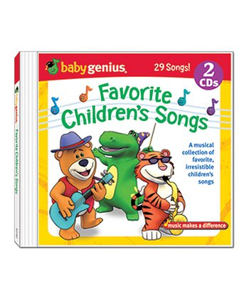 Favorite Children's Songs CD Set
