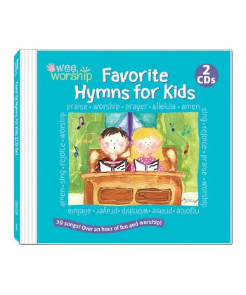 Wee Worship Favorite Hymns for Kids CD Set