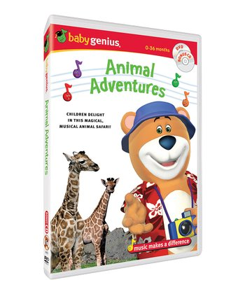 Animal Adventures DVD & CD