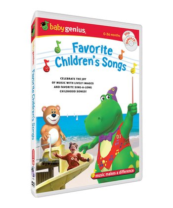 Favorite Children's Songs DVD & CD