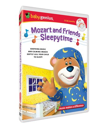 Mozart and Friends Sleepy Time DVD &CD