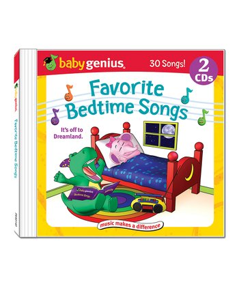 Favorite Bedtime Songs CD Set